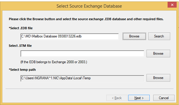 Kernel for Exchange Server Recovery | Exchange Server